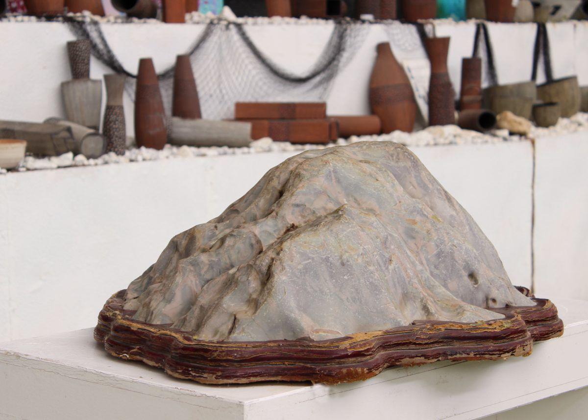 Suiseki, l'art en pierre
