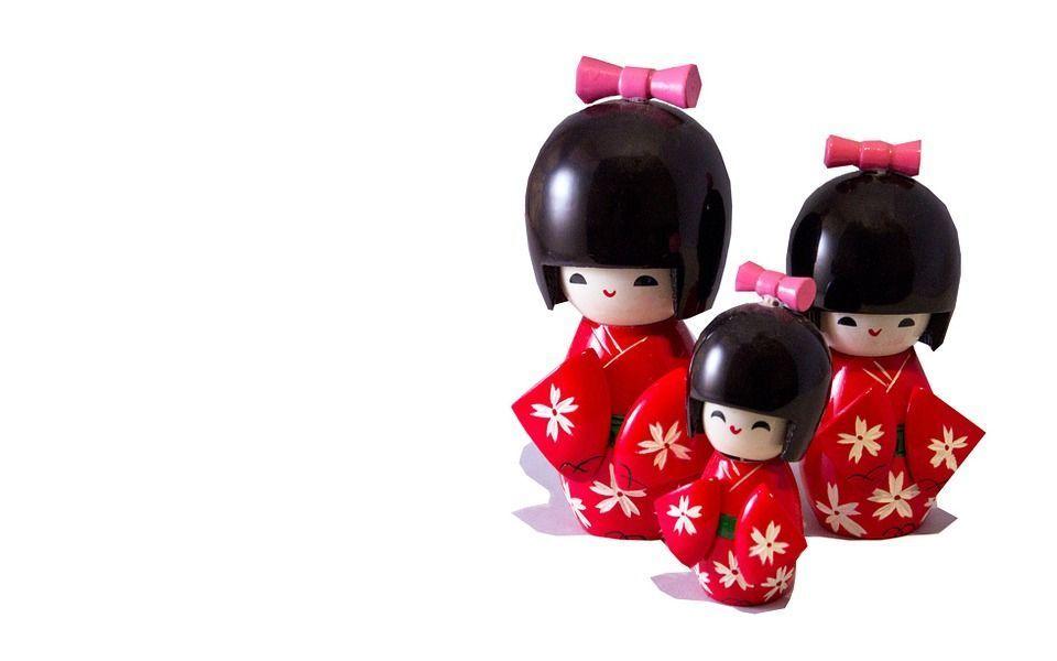Poupées traditionnelles japonaises: Les Kokeshi