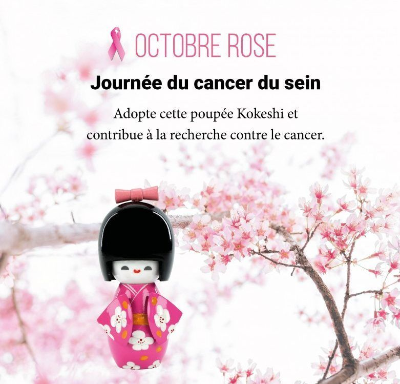 Octobre Rose, agissez contre le cancer du sein.