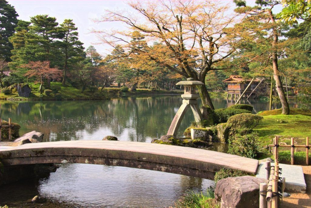 Keroku-en Gardens in Japan