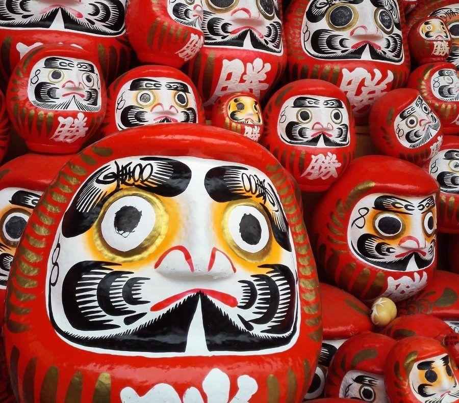 Daruma, el muñeco japonés de los propósitos